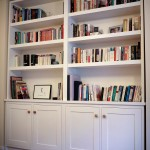 Semi-fitted bookcase