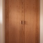 Oak doors with veneered panels