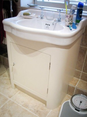 Basin-unit-curved